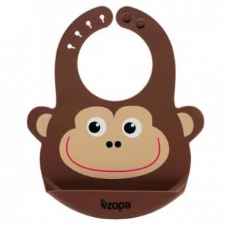 Silikónový podbradník - ZOPA Monkey