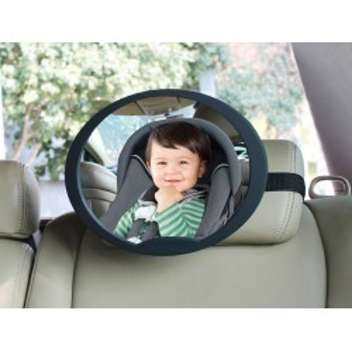 Nastaviteľné spätné zrkadlo do auta - BabyDan