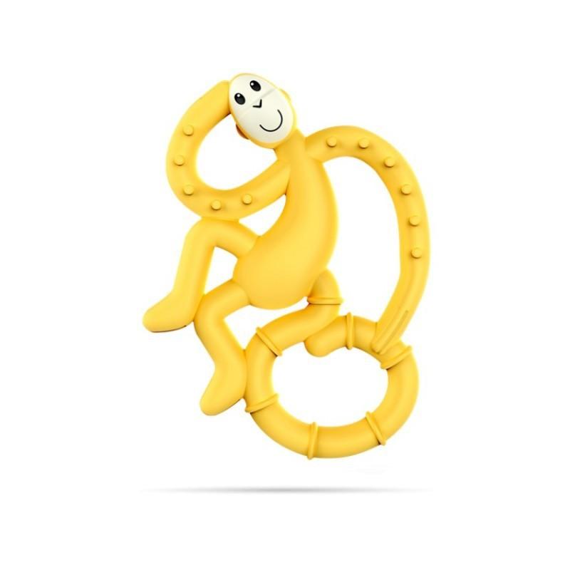 Hryzátko MIni Monkey - MATCHSTICK MONKEY Žltá