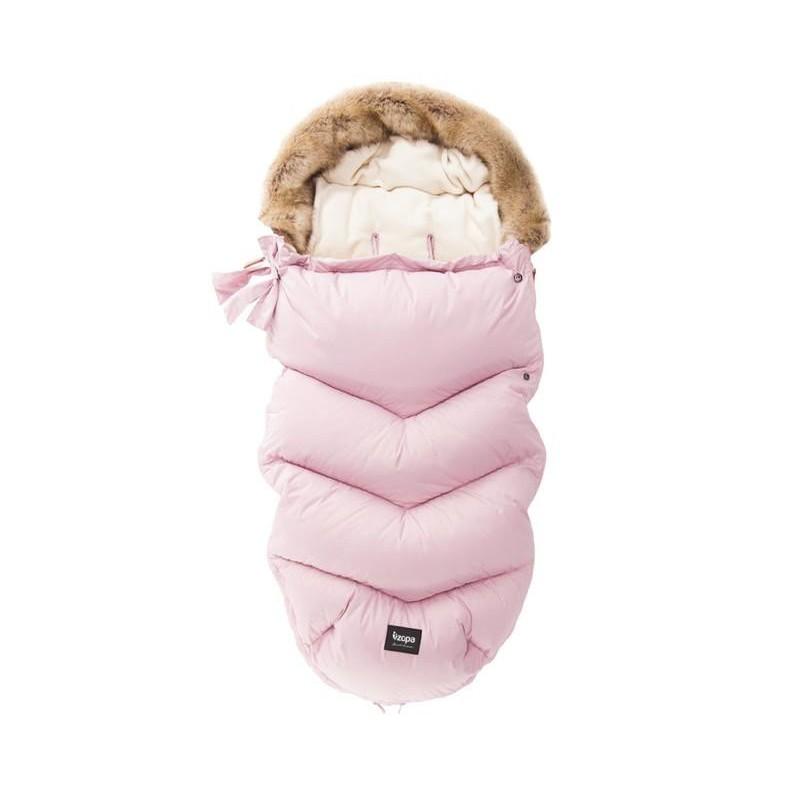 Zimný fusak ZOPA Fluffy starorúžový - ZOPA