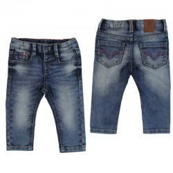 Nohavice Soft denim jeans - Mayoral