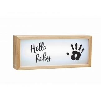 Baby Art Drevený svetelný Light Box with imprint