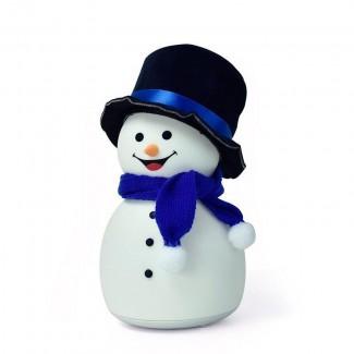 InnoGio - Lampička SNOWMAN s melódiou