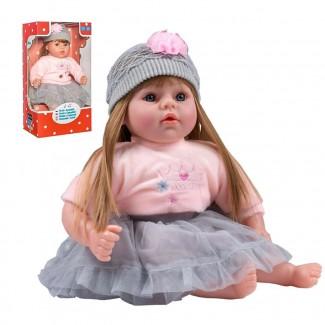Slovensky hovoriaca a spievajúca detská bábika PlayTo 46 cm