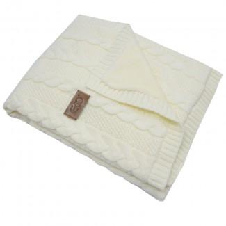 EKO PLE-41 deka z pleteniny klasy + kožušina