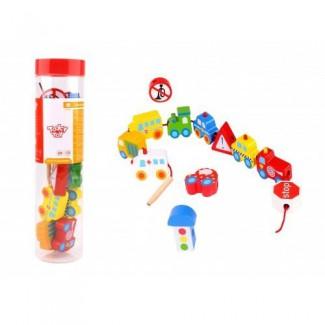 Tooky Toys - Prevliekanie - doprava