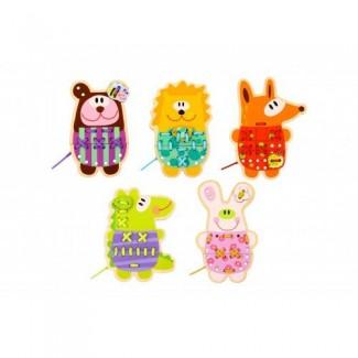 Tooky Toys - prevliekanie zvieratká - šitie