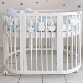 Ingvart -Magnetické dekorácie pre detské postieľky SMART BED