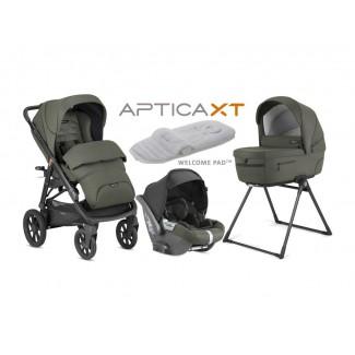 Kombinovaný kočík APTICA XT 4v1DARWIN - INGLESINA Charcoal Grey
