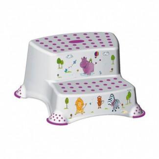 Dvojstupienok k umývadlu Hippo - Keeper