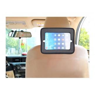 Vreckár do auta s vreckom na tablet LUXURY GREY - BabyDan