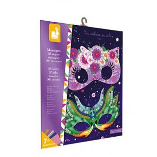 Janod Atelier Mozaika Masky Mini 7+