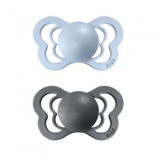 BIBS Couture ortodontické cumlíky z prírodného kaučuku 2ks – veľkosť 1- BIBS
