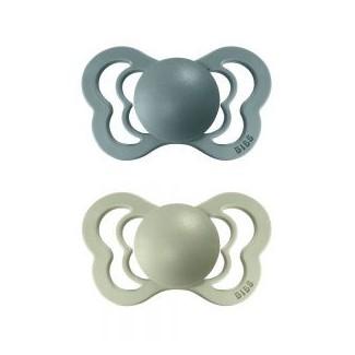 BIBS Couture ortodontické cumlíky zo silikónu 2ks – veľkosť 2- BIBS