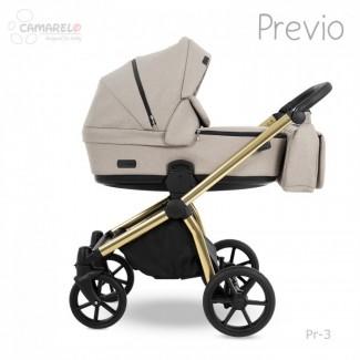 Kombinovaný kočík PREVIO - Camarelo