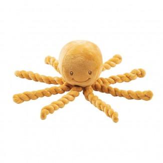 Prvá hračka pre bábätka chobotničk PIU PIU Lapidou 0m+a - NATTOU