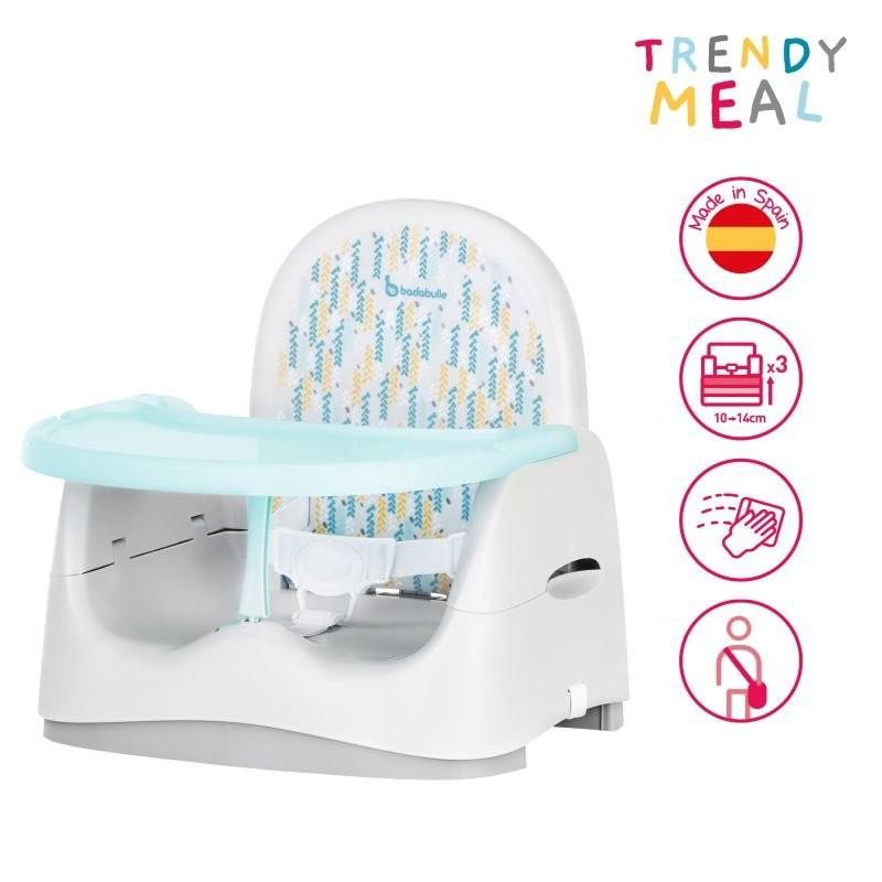 Badabulle - Prenosná stolička TRENDY MEAL