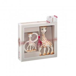 Darčekový set - žirafa Sophie + hryzátko - Vulli