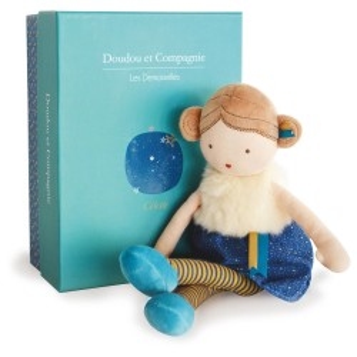 Bábika látková 30cm rôzne druhy - DouDou et Compagnie Coquelicot