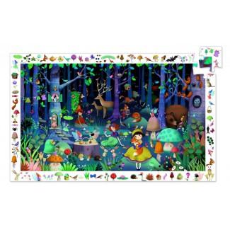 Objavovacie puzzle 100 dielov - DJECO