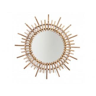 Childhome Zrkadlo ratanové guľaté 60 cm